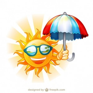 happy-sun-with-sunglasses-and-umbrella-cartoon-illustration_23-2147501512