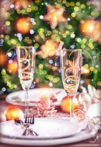 23949913-Closeup-photo-on-festive-dinner-still-life-festive-table-setting-on-luxury-decorated-Christmas-tree--Stock-Photo
