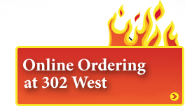 Online Ordering at 302 West